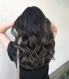 trendy balayage hair dye concepts for brunettes - magnificence suggestions ., trendy balayage hair dye concepts for brunettes - magnificence suggestions . Ash Brown Balayage, Brown Hair With Blonde Highlights, Brown Ombre Hair, Ombre Hair Color, Hair Color For Black Hair, Light Brown Hair, Hair Color Balayage, Hair Highlights, Caramel Highlights