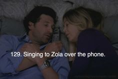 Singing to Zola over the phone Greys Anatomy Actors, Watch Greys Anatomy, Greys Anatomy Memes, Meredith And Derek, Medical Drama, Laughing And Crying, One Night Stands, 50 Shades Of Grey, Save Life