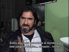 NIKE Joga Bonito INTRO Eric Cantona *Español* - YouTube