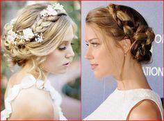 Die Sexy Hochgesteckte Brautfrisuren für Blondinen