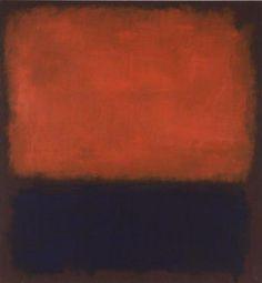 No. 14, 1960 by Mark Rothko. Color Field Painting. abstract. San Francisco Museum of Modern Art, San Francisco, CA, USA