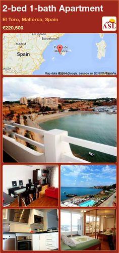 2-bed 1-bath Apartment in El Toro, Mallorca, Spain ►€220,500 #PropertyForSaleInSpain