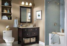 best bathroom decor colors
