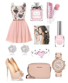 """""""Untitled #63"""" by linochkagreb ❤ liked on Polyvore featuring Michael Kors, River Island, Christian Dior and Bling Jewelry"""