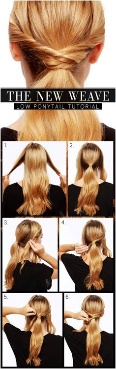 A nice collection of 10 Gorgeous Everyday Hairstyles for Long Hair