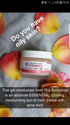 Die Bodyshop Vitamin E Aqua Boost Sorbet Bewertung – My New Favorite Moisturizer… – Hautpflege – beauty skin care Sorbet, Skin Tips, Skin Care Tips, Beauty Care, Beauty Skin, Diy Beauty, Beauty Secrets, Beauty Products, Beauty Hacks Oily Skin