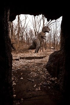 Abandoned Prehistoric Forest, located in the Irish Hills, of Lenawee County, in southeastern Michigan.  I've explored this place!