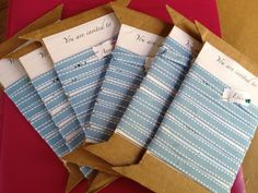 Sewing Party Invitations