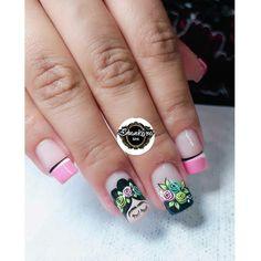 Mani Pedi, Manicure And Pedicure, Cute Nails, My Nails, Mexican Nails, Nail Decorations, Creative Nails, Summer Nails, Nail Designs