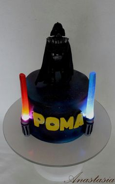 Star wars cake Торт Звездные войны Дарт Вейдер