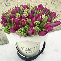 Tulip & Hyacinth bouquet