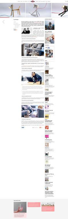 """""""Nagy sikerrel mutatkozott be a tavalyi év végén a hazai és nemzetközi design szcénában Zimmerer Erzsébet és Lente Márton közös munkája, a LUMINOSE kutyát formázó lámpa."""" – at @stilblog. #luminose #stilblog Have Fun, Reading, Reading Books"""