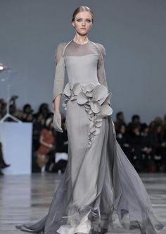 Vlada Roslyakova at Stephane Rolland | Couture Spring 2013