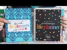 https://www.erincondren.com/referral/invite/sharonanderson1106  Let's Talk... Life Planners: Inside the Planner! - YouTube  #erincondren #lifeplanner #organized #planner #personalized #customplanner