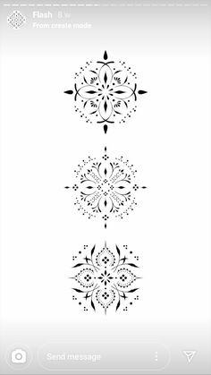 Lotusblume Tattoo, Tattoo Now, Ring Tattoos, Body Tattoos, Flower Tattoos, Tatoos, Elegant Tattoos, Beautiful Tattoos, Mandala Tattoo Design