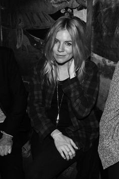 Sienna Miller at Guns N'Roses performance during NYFW- from Elle