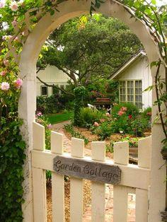 Gateway to garden