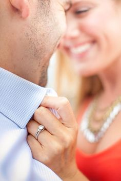 Engagement Photography | Clane Gessel Photography #CloseUp #Engagement #Photography