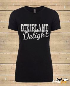 Dixieland Delight Graphic Tee - Flowfox Designs - Etsy - The Shop Gal
