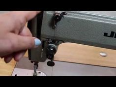 "Fashion Institute of Technology Professor Sandra Markus illustrates how to wind a sewing machine bobbin in this ""how to"" prototype video created for The Fash..."