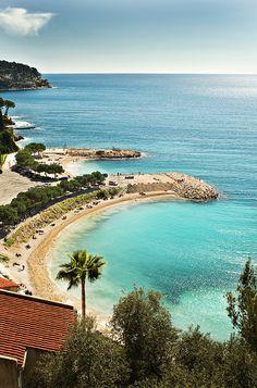 Beaches in Cap Ferrat, France