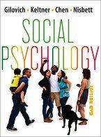 Social Psychology (Third Edition), 3rd Edition