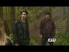 The 100: Pilot: The Dying Arc -- Will Finn convince The 100 to warn survivors on The Arc? -- http://www.tvweb.com/shows/the-100/season-1/pilot--the-dying-arc
