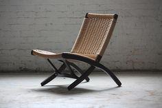 Wegner style folding chair