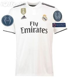 2018 19 wholesale Real Madrid home 3rd away BALE ASENSIO isco champions 13  cup Camiseta soccer 6e1c67795