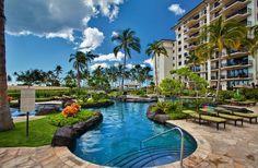 2-3BD Vacation rental condos at the Beach Villas Resort in Ko Olina on Oahu-Hawaii. Features 2 pools. www.lovehawaiivillas.com