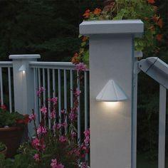The Mini Deck Light In White By Kichler