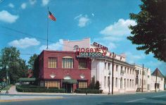 Hogate's Restaurant at 9th Street and Maine Avenue SW in the 1950s.