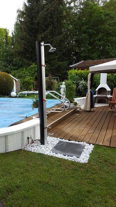 Neue Garten-Dusche.....