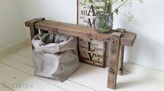 Bankje 'old wood'