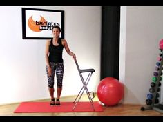 BALLET BARRE WORKOUT Barre Thighs - Barlates Standing Barre Thighs with Linda Wooldridge - YouTube