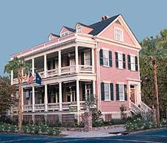 Ashley Inn Bed and Breakfast, Charleston, South Carolina USA Great location, walk to town.  #innforsale