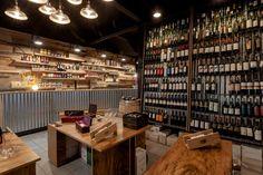 Bar construído para parecer caixa de vinho – Ideias Diferentes