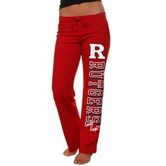 Rutgers Scarlet Knights Womens Frosh Fleece Sweatpants - Scarlet - $22.99