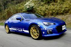 """Formula HLT 17"""" on Subaru CluBRZ #OZRACING #ITECH #FORMULA #HLT #RIM #WHEEL"""