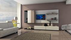 Reproducción de muebles modernos en 3D.