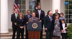 """President Obama about to speak after background checks bill defeated - Twitter / """"HuffPostPol: Sandy Hook father is introducing the president, who not surprisingly looks mad"""" #guns"""