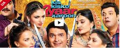 Finally, the official trailer of Kapil sharma's debut movie, Kis Kisko Pyaar Karoon is out, and it's hilarious. The trailer introduces comedy king Kapil Sharma as SRK (Shiv, Ram and Kishan). He will be seen romancing four beauties in the movie. Movies Box, 2015 Movies, Entertaining Movies, Kapil Sharma, Nour, Full Movies Download, Movie Downloads, Status Hindi, Comedy Films