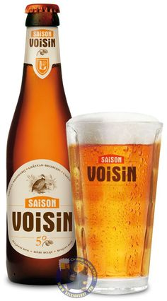 Our New Beer: Saison Voisin 5°  Available at: http://store.belgianshop.com/season-beers/2000-saison-voisin-5-13l.html  Voted the 'Best Belgian Amber of Wallonia' in 2012.  SAISON VOISIN has been brewed since 1884 according to the original recipe – it's a truly local beer of the lands. It is characterised by its hoppy taste (40 EBU) and a lovely amber finish. Saison Voisin will throws you back to the harvests of yesteryear.  Pours hazy golden, almost copper coloured with a large white head…
