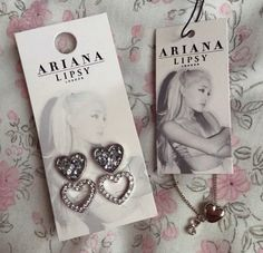 Ariana Grandes jewlery collection! Oh my god I want it soo bad