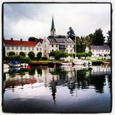 @wilhelmine2 (Trine Wilhelmine Rønnevig) 's Instagram photos   Webstagram - the best Instagram viewer Beautiful Norway, Small Towns, Places To Visit, Instagram Images, Mansions, Photo And Video, House Styles, Photos, Travel