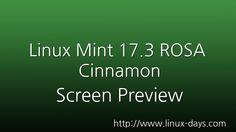 [linux-days.com] Linux Mint 17.3 Rosa Cinnamon  Preview (1080p)