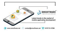 Latest Trends in The Market of Mobile Application Development Mobile App Development Companies, Mobile Application Development, Latest Trends, Technology, Marketing, Phone, Face, Blog, Tech