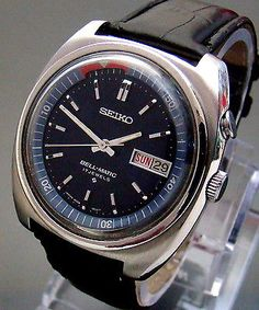 VTG-1970-SEIKO-ALARM-BELL-MATIC-4006-6031-AUTOMATIC-MENS-WATCH-SS-MINT