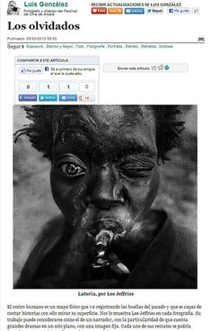 Post Huffington: Lee Jeffries / Los olvidados