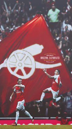 Alexis Sanchez and Mesut Ozil Arsenal Fc, Arsenal Players, Arsenal Football, Football Is Life, Football Soccer, College Basketball, Arsenal Wallpapers, Alexis Sanchez, 3d Logo